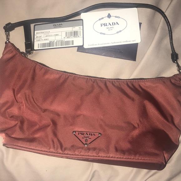 Authentic Prada Nylon evening bag 7818773021f10